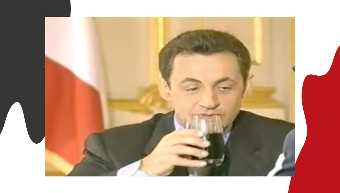 Nicolas Sarkozy & Mecca Cola